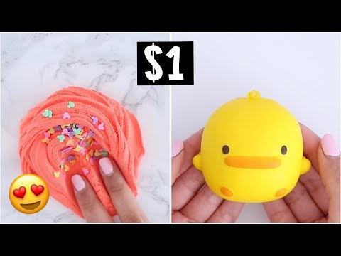 WATCH This Before You Buy $1 SLIME & SQUISHIES!