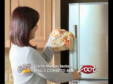 TVC Zoot Review - Walls Mini Cornetto - YouTube