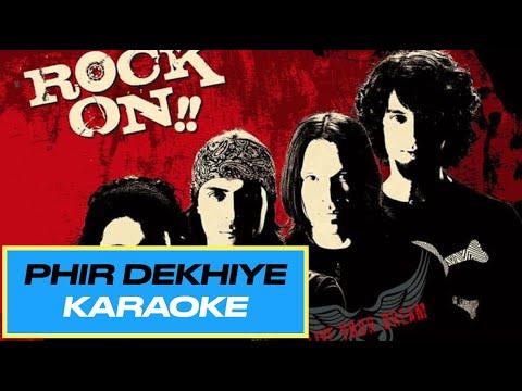 Bollywood Karaoke - Phir Dekhiye - Rock On...