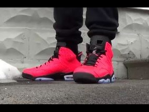 best value a1db2 e60e9 2014 Air Jordan 6 Infrared 23 VI 6s Sneaker Review + On Feet W/ Dj Delz +  Vlog On Important Heads Up