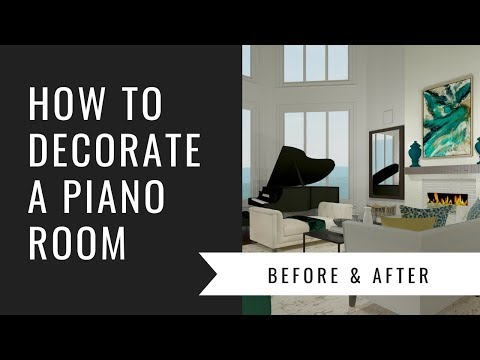 Arianne Bellizaire Interiors Design Presentation: How To Decorate A Piano Room