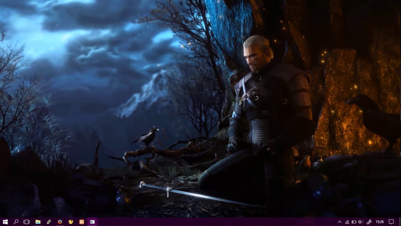Wallpaper Engine Witcher 3 - YouTube
