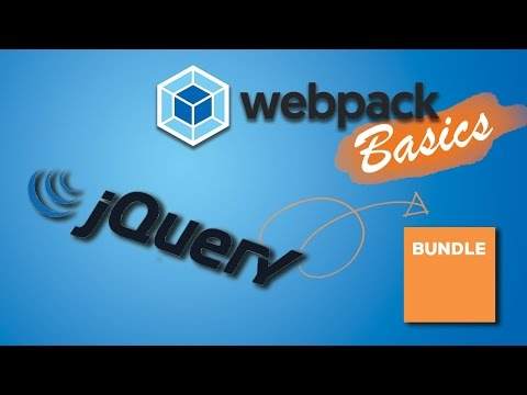 USING 3RD PARTY PACKAGES LIKE JQUERY| Webpack 2 Basics Tutorial