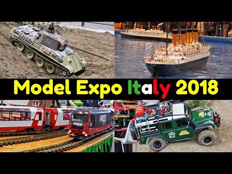 Model Expo Italy 2018 - Verona - Highlights - Boats, Trucks,