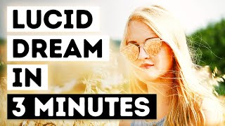 How To Lucid Dream In 3 Minutes (46% Success Rate) MILD Technique For Beginners