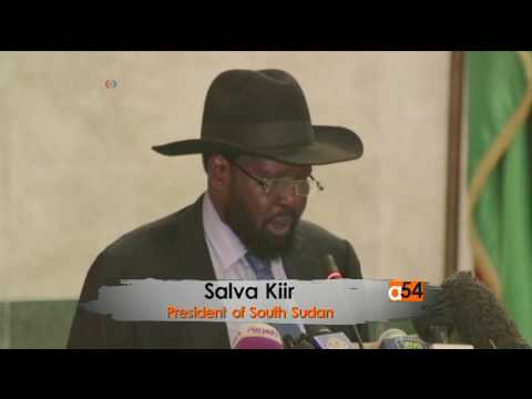 Salva Kiir Delivers Apology to South Sudanese People