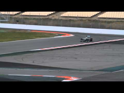 F1 Formula One Barcelona Test day 1 and 2 [ 2013 ] video