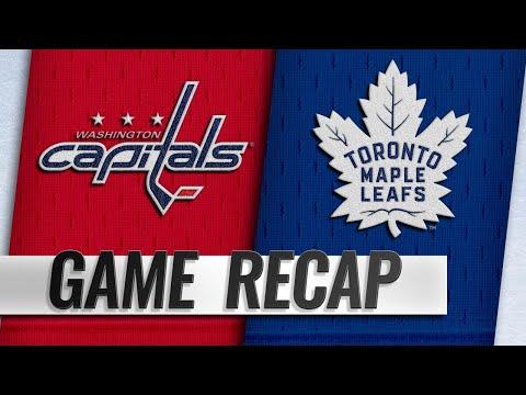 Kadri's hatty propels Leafs to 6-3 win over Capitals