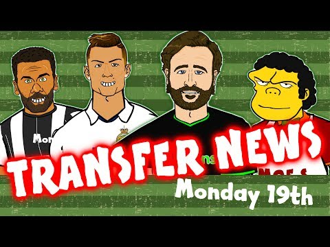 442oons TRANSFER NEWS #1! (Feat. Ronaldo, Alves, Salah and more)