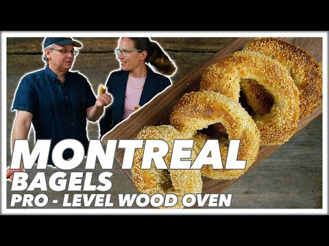 Authentic-ish? How To Make Montreal Style Bagels In A Wood Oven - Glen And Friends Cooking