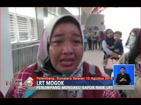 LRT di Palembang Mogok, Penumpang Kecewa dan Menangis - BIS 13/08