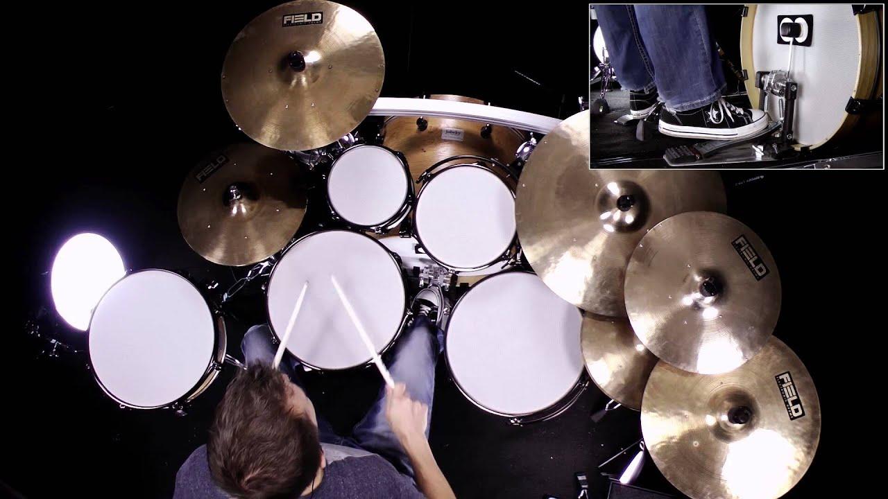 DRUM SOLO: EZdrummer 2 Modern EZX - Syncopated Groove Improvisation ...