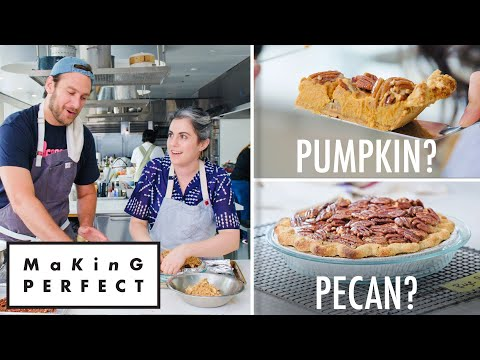 Claire & Brad Make the Perfect Thanksgiving Pie | Making Perfect: Thanksgiving Ep 5 | Bon Apptit