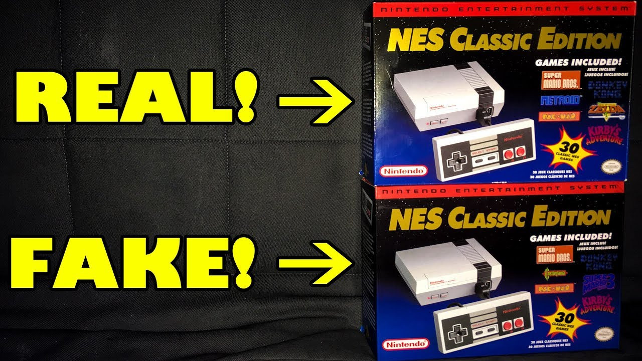 Chinese Knock Off Nes Classic That Looks Real Nintendo Famiclone