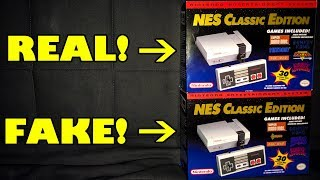Chinese Knock Off NES Classic That Looks Real! Nintendo Famiclone Fake Bootleg