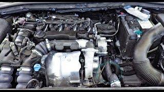 changer un moteur de voiture et Montage. 1 6 HDI - تغيير وتركيب محرك