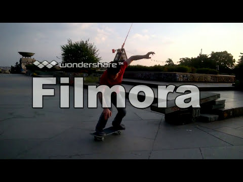 skateboarding in Letna Park in Prague