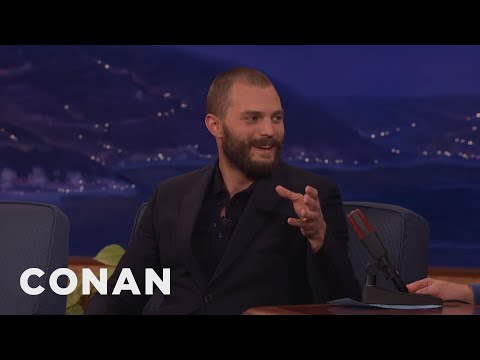 Jamie Dornan Went To An Audition Smelling Like Vomit & Whiskey  - CONAN on TBS