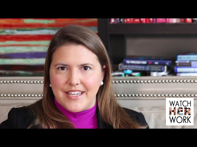 Workforce Reentry: Focus on How You Bring Value, Anna McKay | WatchHerWorkTV