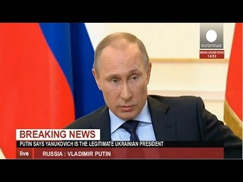 Russia reserves the right to intervene in Ukraine, says Putin