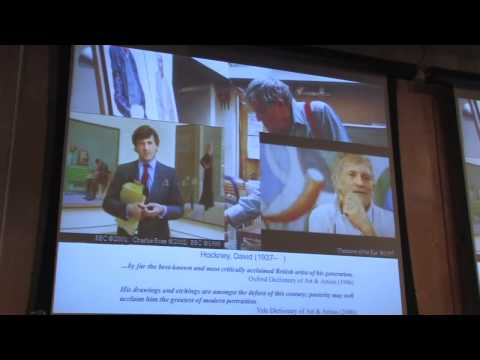 """Charles Falco presents """"The Science of Optics: The History of Art"""" (1/4)"""