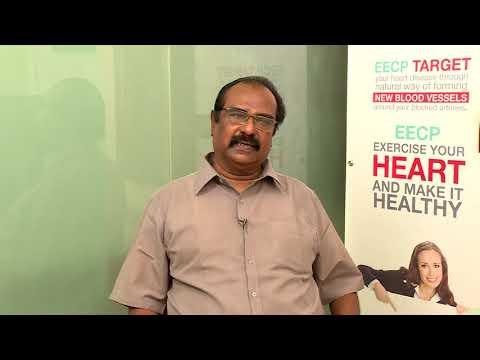non surgical eecp treatment patient testimonial mr raja healyourheart eecp treatment