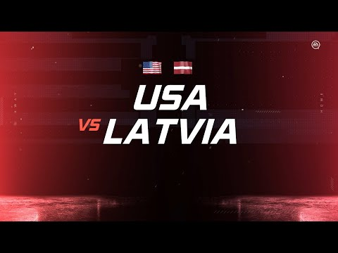Latvia Vs. USA | PS4 Simulated | 2020 IIHF Ice Hockey World Championship