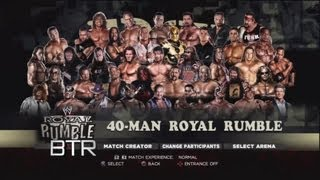 WWE 13 40 Man Attitude Era Royal Rumble
