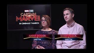 Sands Profile: Captain Marvel's Directors Anna Boden And Ryan Fleck