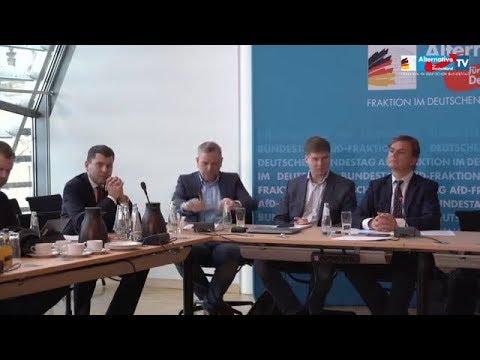 AfD PK. Presse stellt Fragen, AfD antwortet 28.01.2020