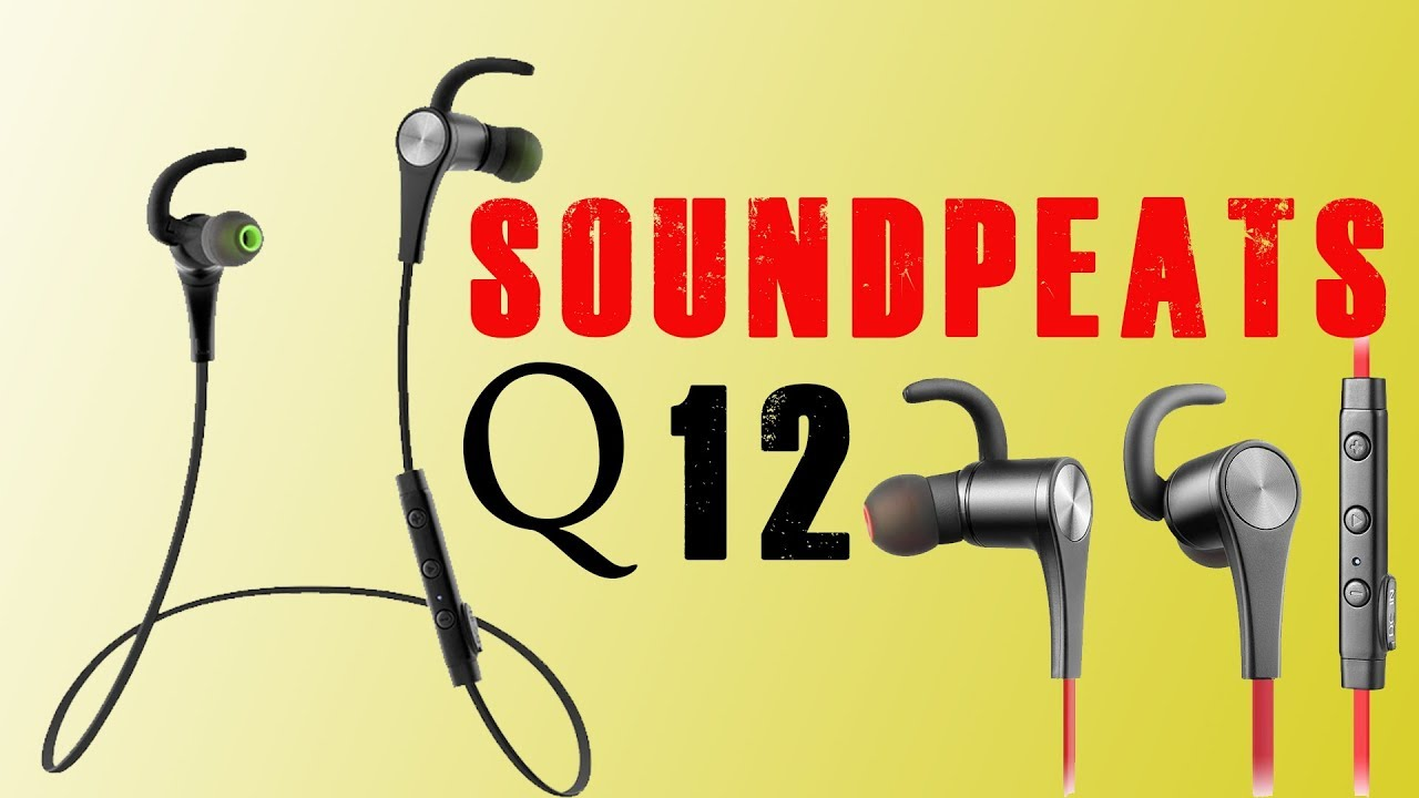 612722d058b Soundpeats Q12 | Bluetooth Wireless earphones | Is it worth buying soundpeats  q12 | user review