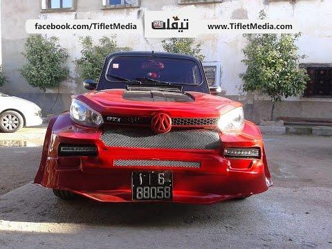 شاب مغربي حول R4 إلى golf 6 GTI