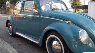 Fusca 1968 carro de Colecionador original Käfer Vocho Escarabajo Beetle Bug