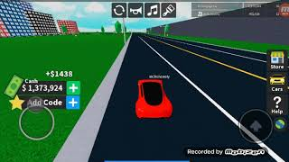 I got a laferrari in a private server in roblox!!! 🚘🚘🚘with mewtwoblader100