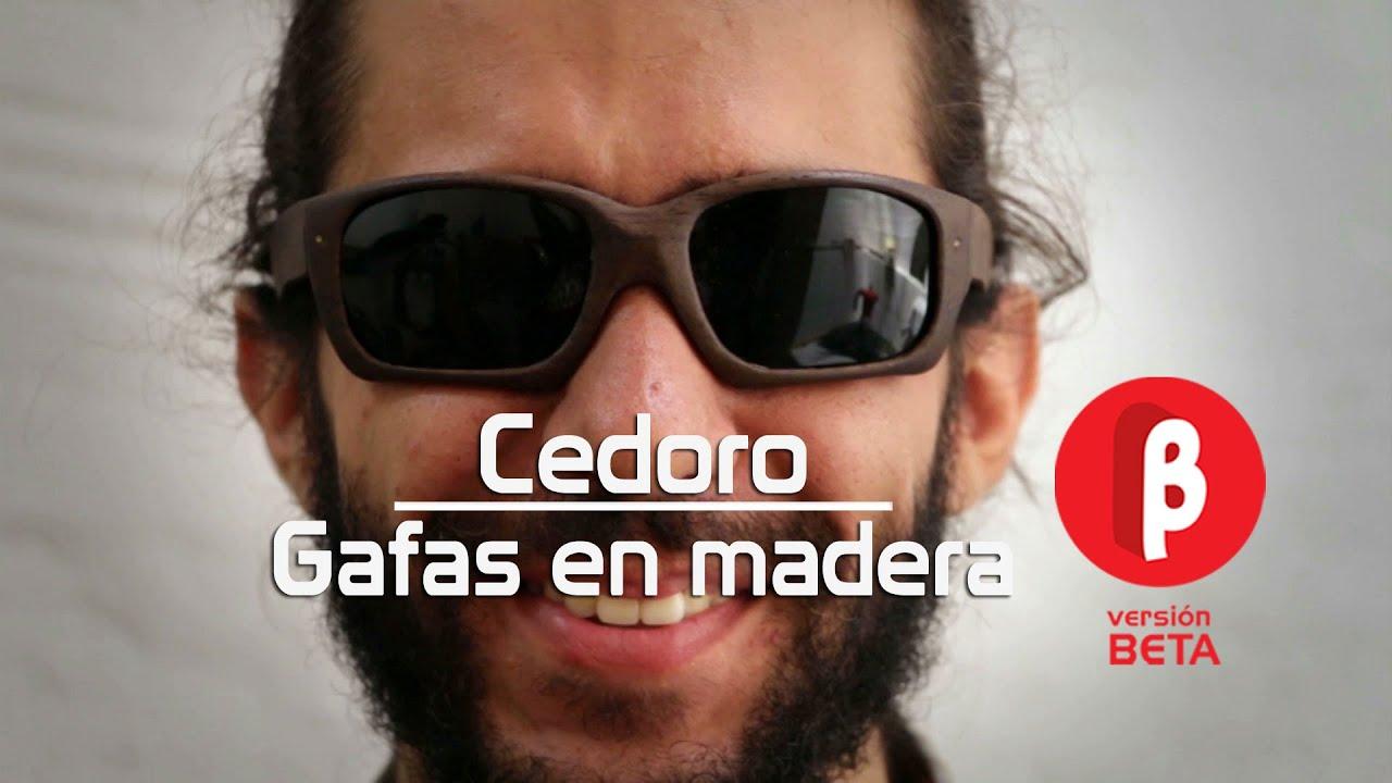 e7564e2443 Cedoro, gafas en madera hechas a mano - YouTube