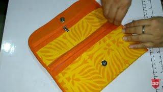 DIY Designer Clutch, Partywear Purse, Small Purse, Clutch Bag make at home