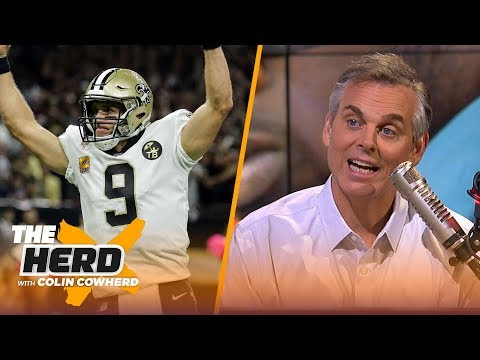 Colin Cowherd on Drew Brees' path to NFL passing yards record and Eagles culture | NFL | THE HERD