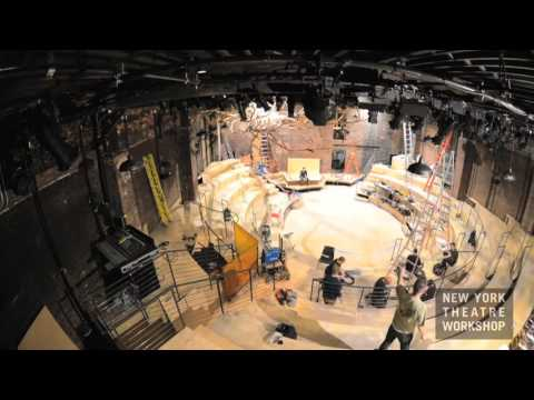 NYTW transforms for HADESTOWN: Timelapse Video