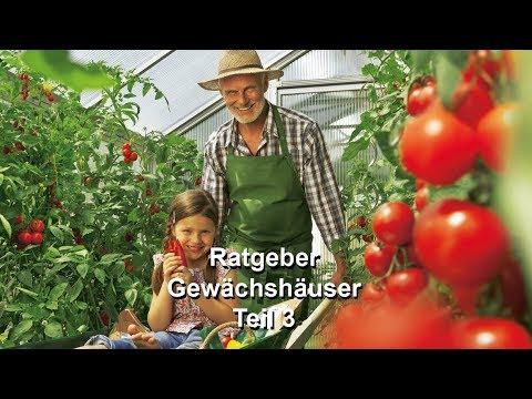 RegioTV Bauen&Wohnen: Beckmann Gewächshaus - Richtige Pflege Der Pflanzen