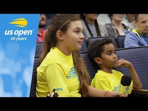 Novak Djokovic Gets Interviewed By Net Generation Ambassadors