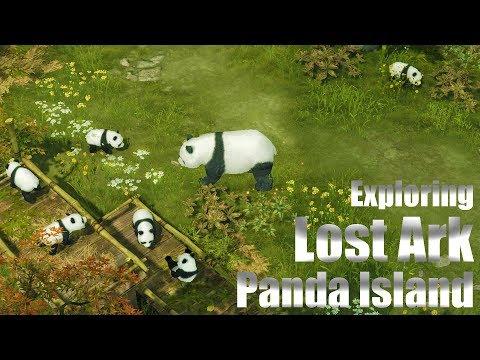 Lost Ark CBT3 Exploring Panda Island - Soulmaster Level 44