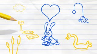 Rabbittersweet Goodbye | Pencilmation Cartoon #36