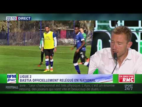 After Foot du mardi   25/07 – Partie 5/7   Ligue 2: Bastia officiellement relégué en National