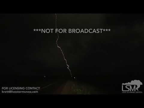 06-05-2018 Mound City, SD lightning and slow motion lightning