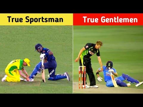 Top 10 True Sportsmen in Cricket || By The Way