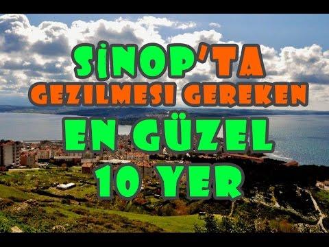 Sinop'ta Gezilmesi Gereken En Güzel 10 Yer