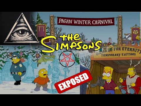Thumbnail: MUST SEE! The Simpsons illuminati Christmas OCCULT witchcraft Exposed!