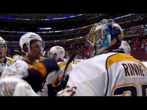 Pekka Rinne Hates the Blackhawks Goal song