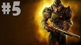 DOOM [2016] Gameplay Walkthrough Part 5: Argent Tower, Kill Olivia Pierce