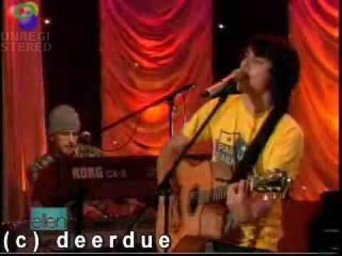 For You I Will - Teddy Geiger - Live - Ellen De Generes Show